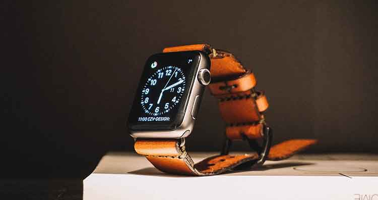Apple Watch Brown Strap Series 4