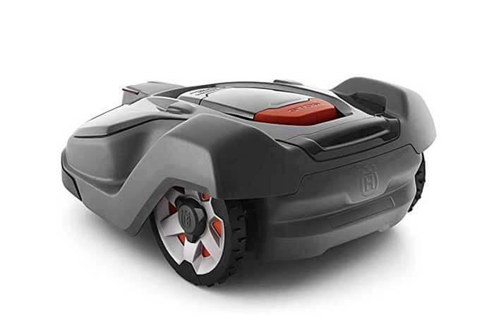 Robot Lawn Mower - rear view
