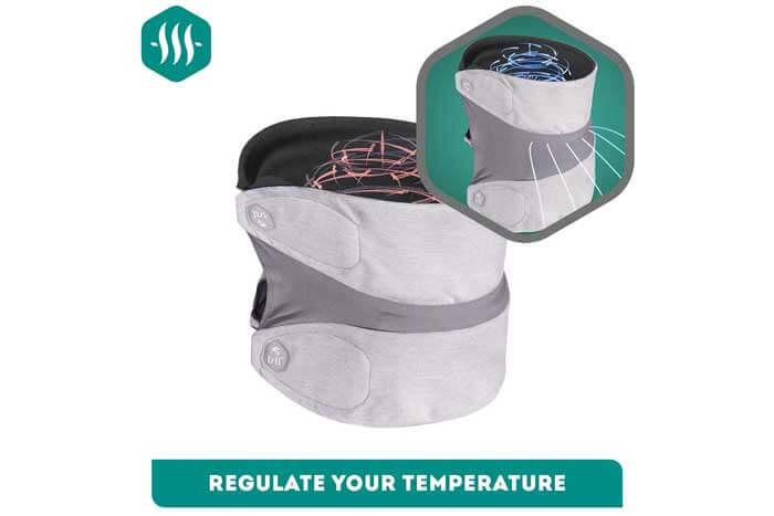 Heat Regulator Travel Pillow